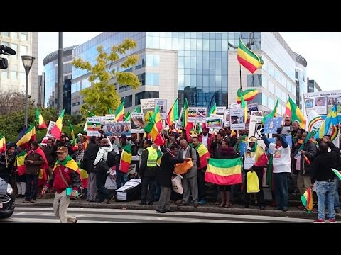 Kefale Alemu on the Brussels Demonstration that Demanded the EU to Stop Supporting TPLF