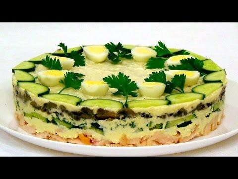 рецепты салатов простые фото с пошаговые