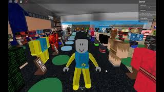 dj spielt roblox in bloogys mall