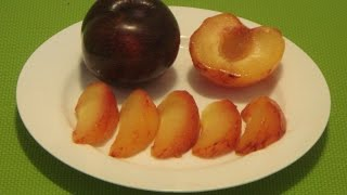How to Eat Plum Fruit: Red Plum