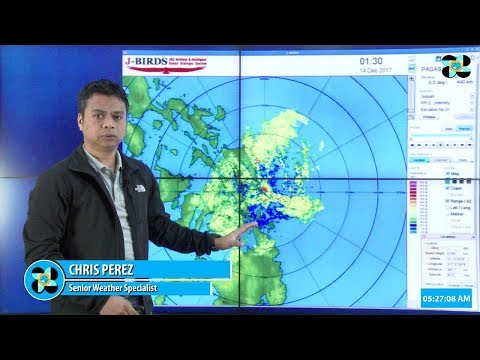 "Tropical Depression ""#UrdujaPH"" Thursday 5 AM, December 14, 2017"