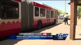 abq ride plans bus lanes on central avenue