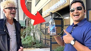 TOP MAGIC SURPRISE ON SECURITY GUARD!! (HE WAS SHOCKED!)
