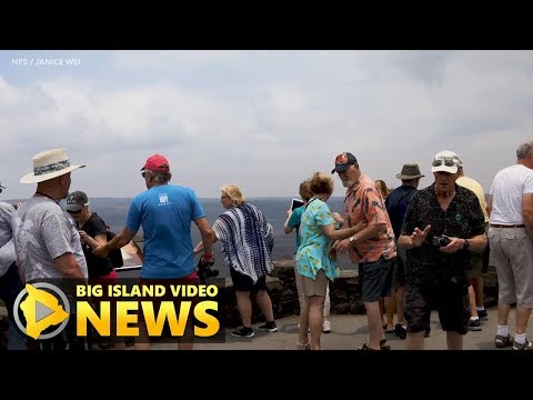 Earthquakes Force Closure Of Hawaii Volcanoes National Park (May 5, 2018)