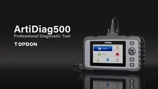 What's TOPDON OBD2 Scanner ArtiDiag500?