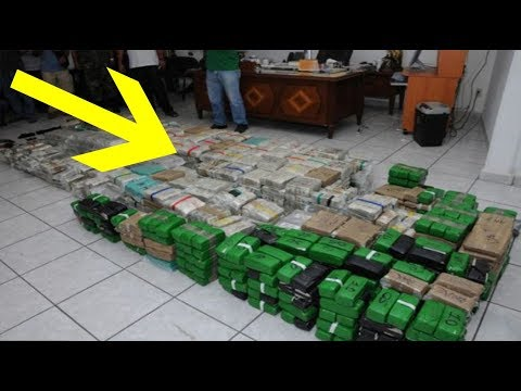 Mexican Drug Lord's House Got Raided Exposing His Secrets