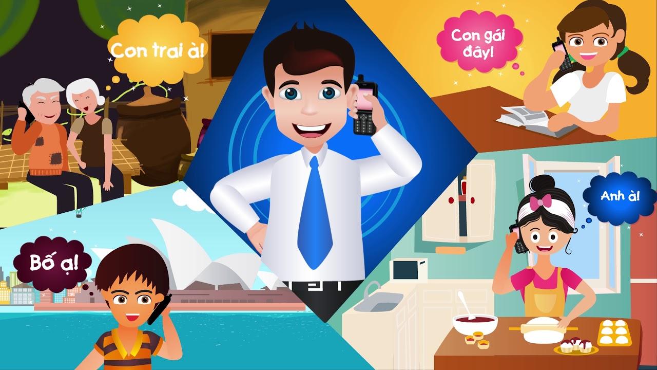 Làm video giới thiệu sản phẩm – App Promo – Phim hoạt hình 2D Vinaphone S