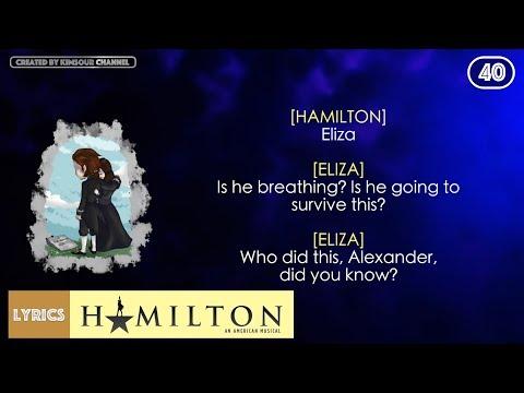 #40 Hamilton - Stay Alive [Reprise] (VIDEO LYRICS)