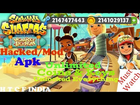 Subway Surfers Venice Beach (Hack/Mod) | v1.88.0 | Unlimited Coins & Keys Apk - No Root | 2018