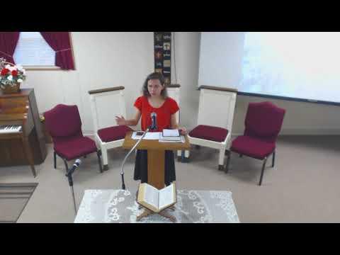 ''My Testimony'' 11/4/17 Brea Perry