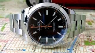 FUTURE WRIST WATCH CLASSICS - Rolex Milgauss Black dial with Orange second hand