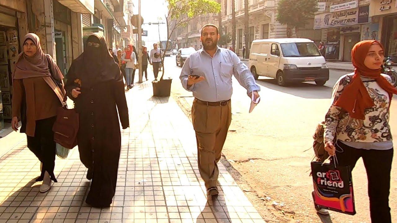 EXPLORING CAIRO, EGYPT   Walking To The Nile River