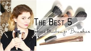 5-ка ЛУЧШИХ: Кисти для макияжа // Face Makeup Brushes | MagisterOfBeauty(Products in my video/Продукты из видео: Кисть для контура Real Techniques 'Bold Metal Collectio' 301 Contour Brush Кисть для пудры Bobbi Brown..., 2015-08-26T23:46:13.000Z)