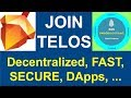 swedencornet: All About Telos - Updates (SECURITY, DApps, RAM, SPEED, GOVERNANCE)