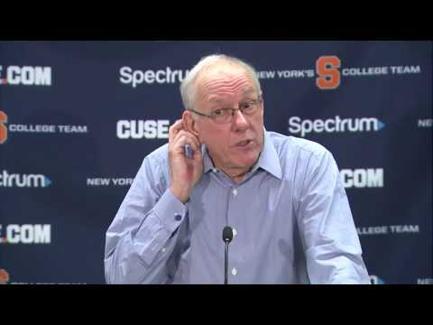 Jim Boeheim vs. Duke Postgame