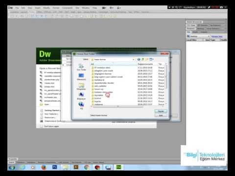 Bilgi Eğitim Web Tasarım Dersi