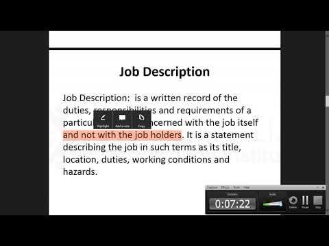 Chapter three Job
