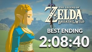 BotW Best Ending Speedrun in 2:08:40