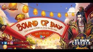 شرح ايفنت Bound CP Day - احصل على كثير من CPS واستونات +8 واتشى كتير جداً - كونكر اون لاين