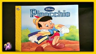 "DISNEY ""PINOCCHIO"" - Read Aloud - Storybook for kids, children & adults"