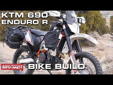 KTM 690 Enduro Bike Build