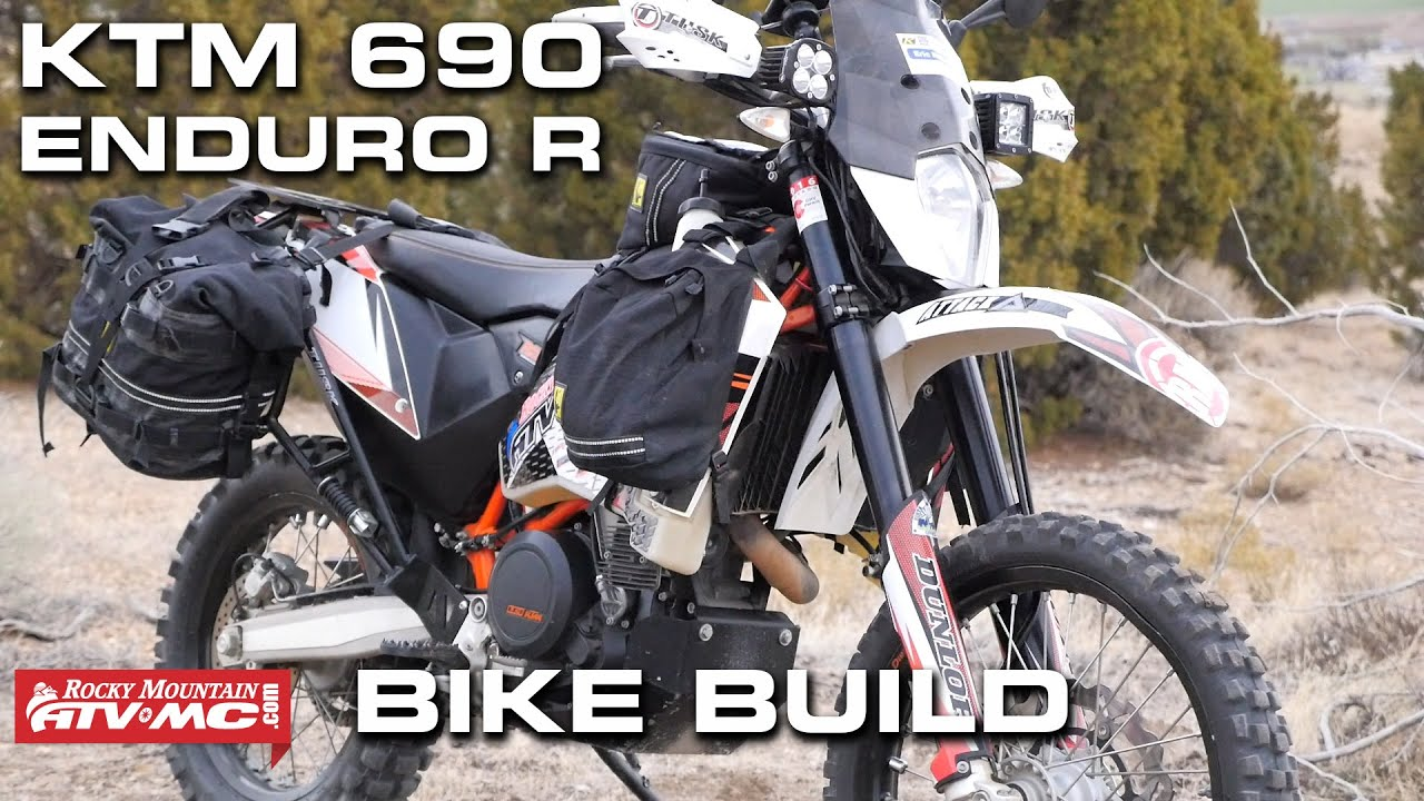 ktm 690 enduro bike build   youtube