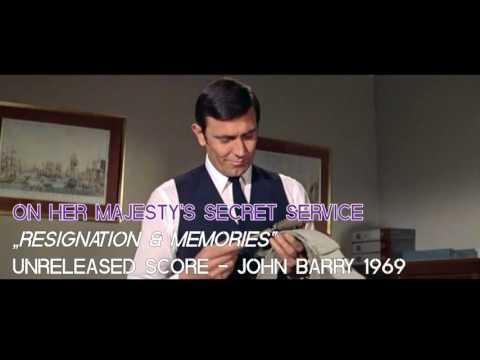 "On Her Majesty's Secret Service (Unreleased Score) - ""Resignation & Memories"" - John Barry 1969"