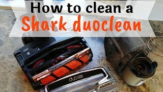 HOW CLEAN MY SHARK DUOCLEAN / HOW TO TAKE APART MY SHARK DUOCLEAN CORDED STICK