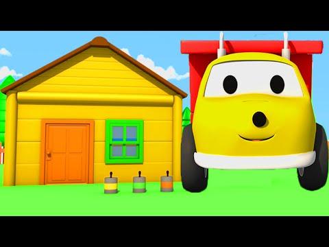 Игорь красит дом и учит цвета   учим цвета вместе с грузовичком Игорем