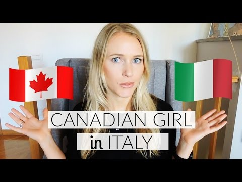 THE DIFFERENCES BETWEEN CANADA AND ITALY!