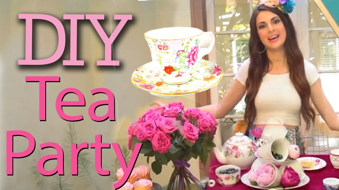 DIY Tea Party with Socraftastic! #17NailedItYouTube