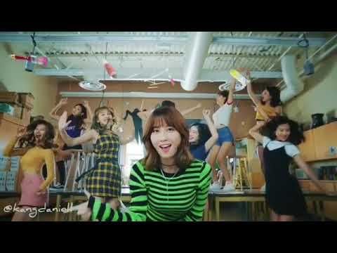 [WANNA ONE] Kang Daniel dance TWICE 'LIKEY' (momo part)