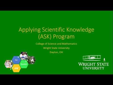 Wright State University ASK Program Benefits
