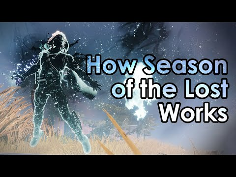 Destiny 2: How Season of the Lost Works