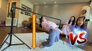 유연성 테스트! 림보게임 누가 가장 유연할까? 림보게임 우승자는? 유연성대결 아무놀이챌린지  Kids LIMBO Challenge l limbo game for family