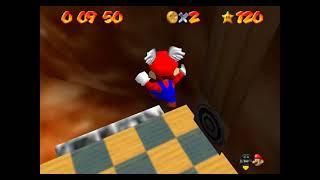 """SM64 [TAS] - Mario Wings to the Sky (21""""3)"""