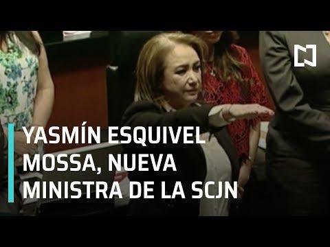 Yasmín Esquivel Mossa, nueva Ministra de la SCJN - Las Noticias
