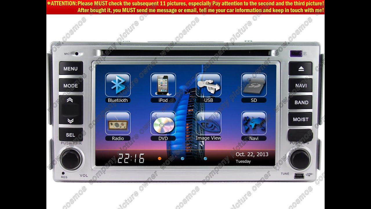 hc xflx for 2007 2012 hyundai santa fe car dvd player gps. Black Bedroom Furniture Sets. Home Design Ideas