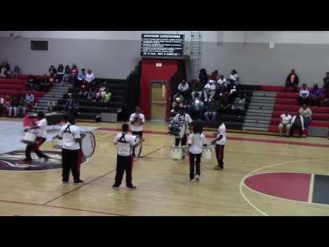 Military Magnet Academy-(RHHS Drumline Show)2017