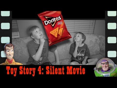 TOY STORY 4: Doritos SILENT Film Parody!  Woody & Buzz Lightyear   Disney Pixar