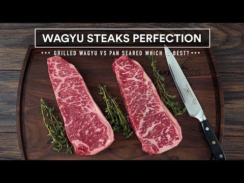 Wagyu GRILLED vs Wagyu PAN SEARED – Wagyu Steak DREAM!
