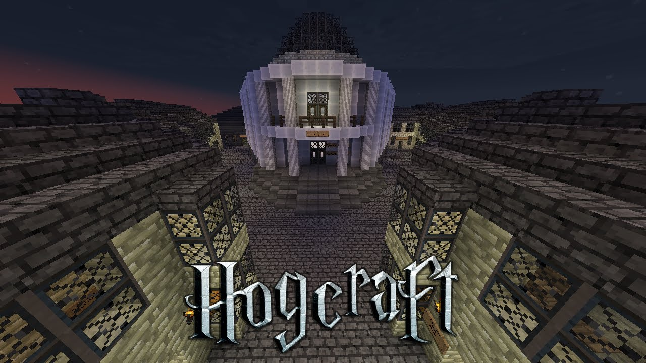 Hogcraft - Update 51 | The Floo Network and Common Rooms - YouTube
