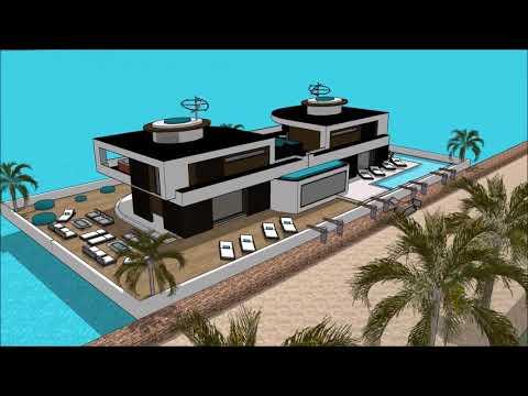 Yacht Boat HOUSEBOATS MIAMI YACHT SHOW 2018  LUXURY YACHTS  SUPER YACHTS  MEGA YACHTS FLORIDA FL HOU