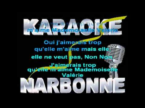 keen'v J'aimerais trop  karaoke