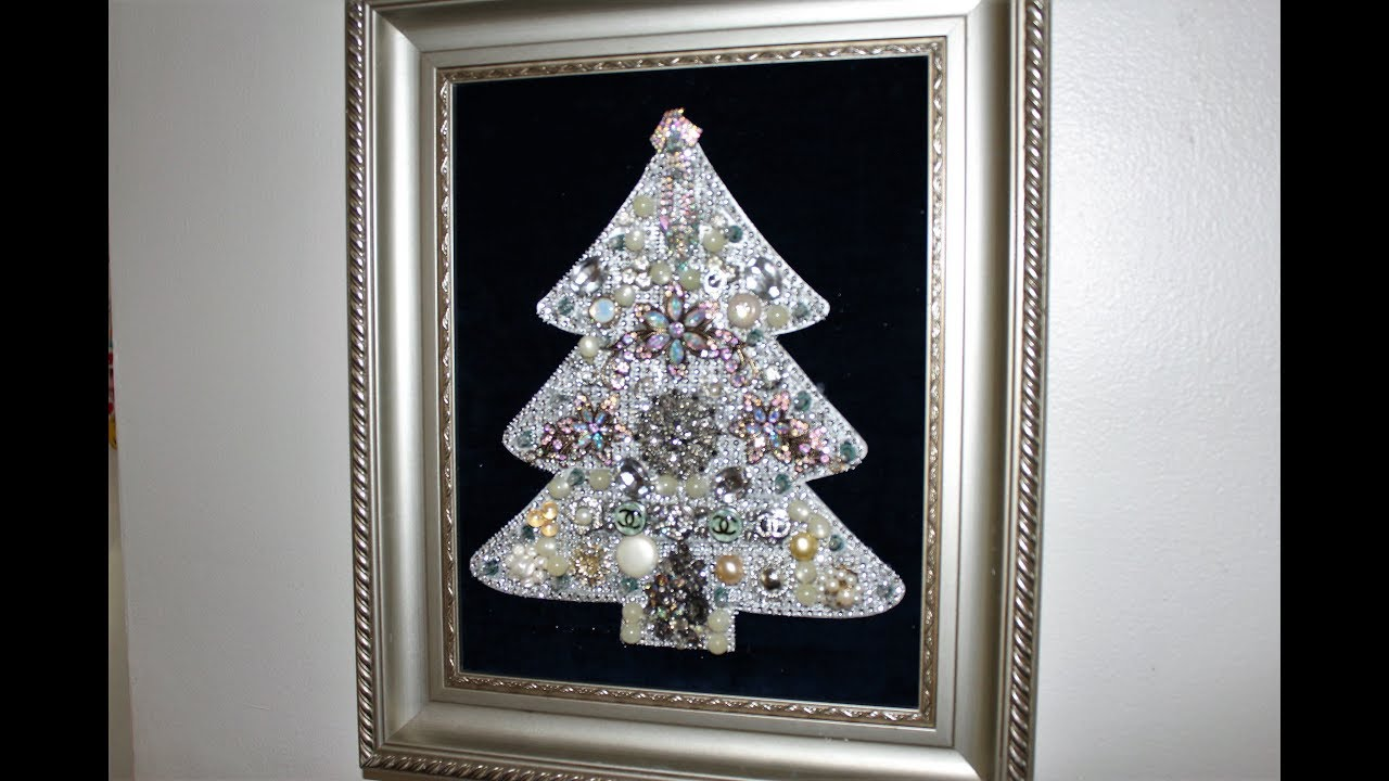 DIY Tutorial Old Skool Lighted Jewelry Christmas Tree Pic #540 - YouTube