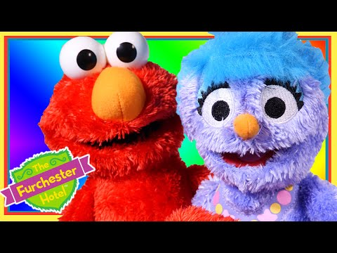 Furchester Hotel Talking Elmo And Phoebe Toy Review | Wonder World TV