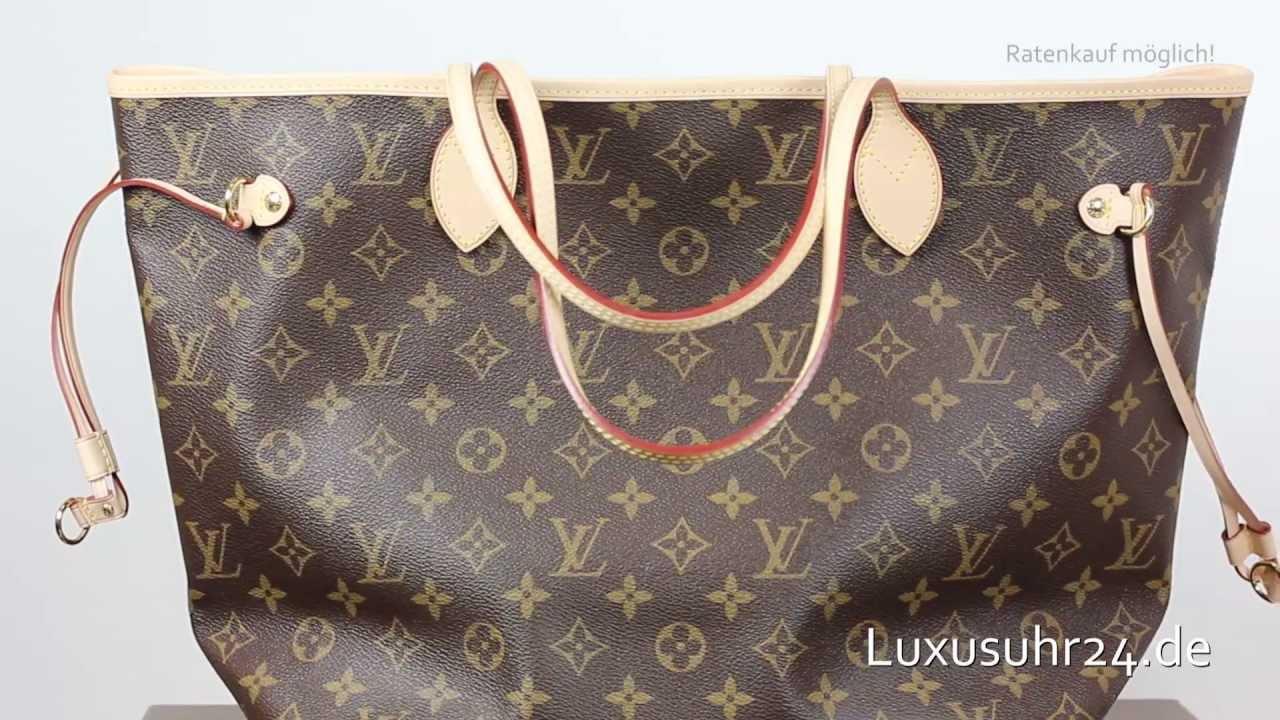 Louis Vuitton Neverfull Mm M40156 Luxusuhr24 Ratenkauf Ab 20 Euro