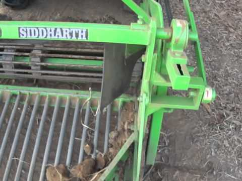 POTATO DIGGER SIDDHARTH AGRI CHORIWAD-GUJRAT.MP4