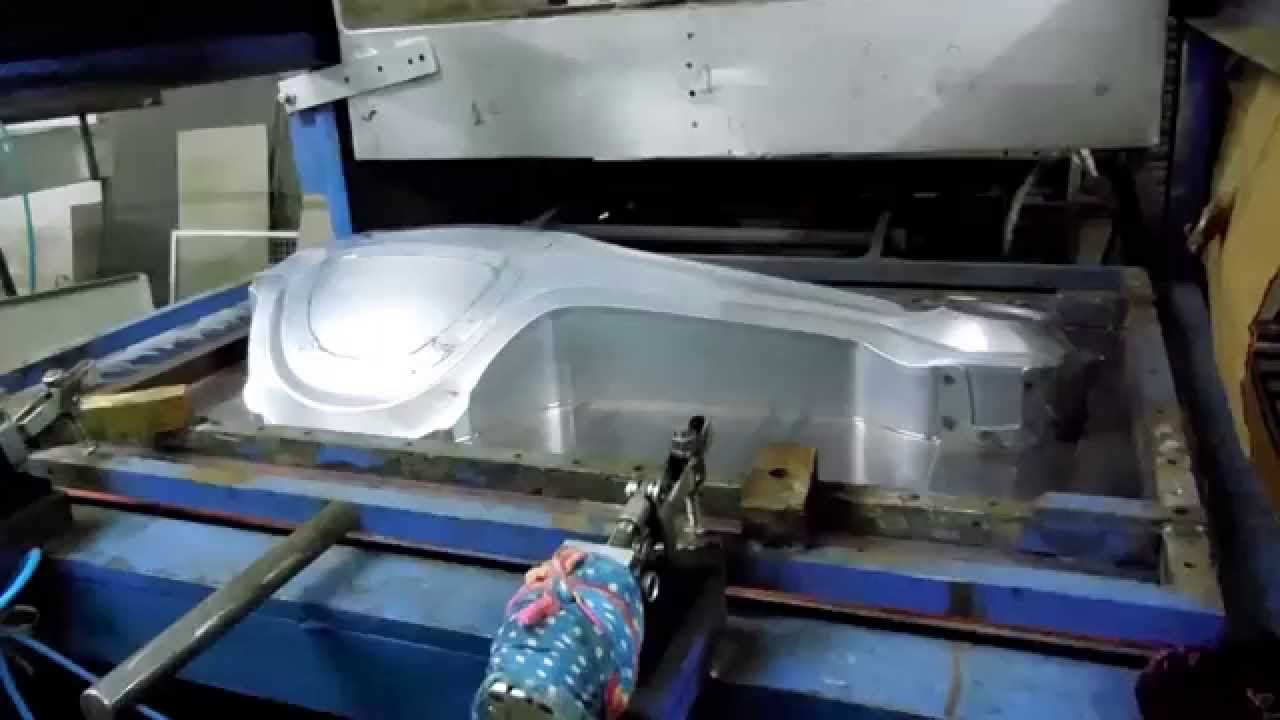 ILLIG UA225 ED/BE Second Hand Vacuum forming MachinePoint - YouTube