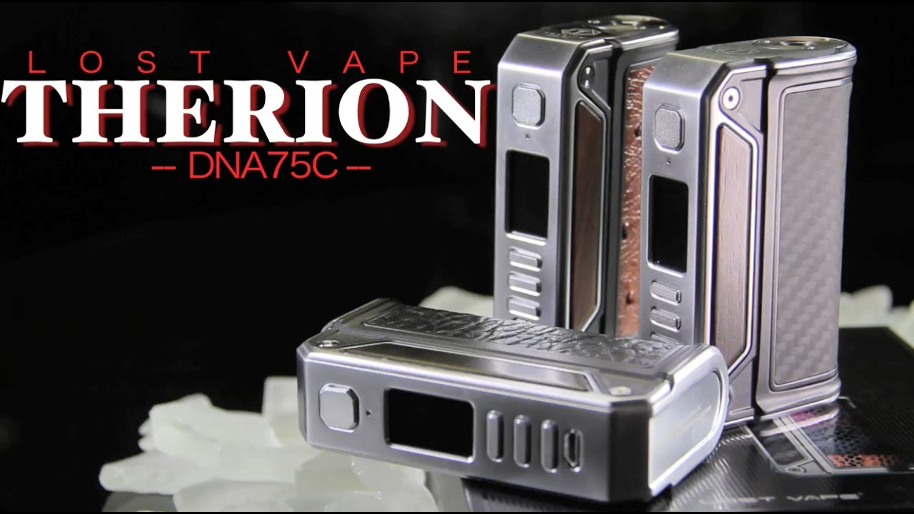NEW THERION DNA75C by LOST VAPE and POWERED by Evolv (TEMP CONTROL) ~MOD  REVIEW~